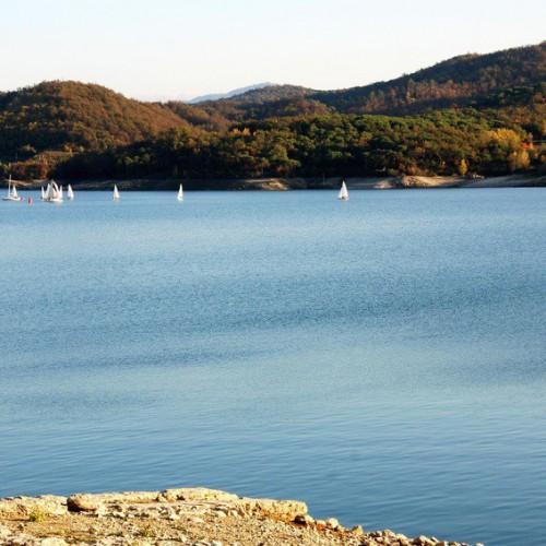 lago bilancino in toscana nei pressi di firenze