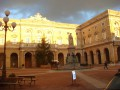 Piazza Giacomo Leopardi a Recanati
