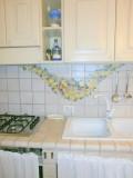 piastrelle dipinte della cucina