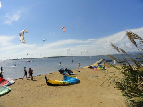 Il kitesurf sulla laguna dello Stagnone